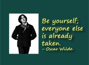 Be yourself Oscar Wilde quote
